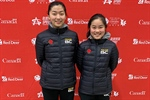 Female Doubles strike Gold in Table Tennis
