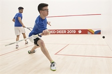 Team BC squash athletes move to medal rounds