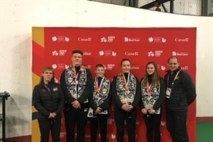Trampoline wins bronze medal for Team BC