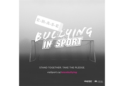 Team BC joins with B.C. Sport Organizations to stand together to Erase Bullying