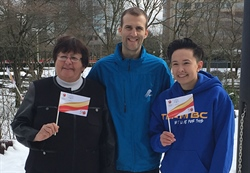 Team BC represents at Canada Games Flag Raising in Burnaby