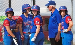 Team BC off to the gold medal game in women's softball