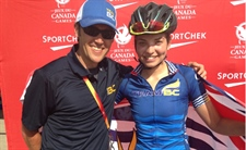 Vancouver Island cyclist earns second gold medal at the 2017 Canada Summer Games