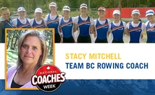 Coach Profile: Stacy Mitchell - Rowing