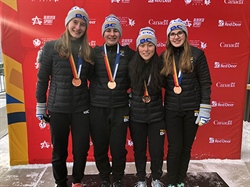 Speed skating team pursuit wins Team BC's first medal at CWG