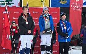 Freestyle skier earns Team BC's first gold at Canada Winter Games