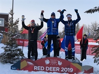 Biathlon competition headlined with Secu bronze medal