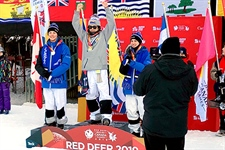 Another golden day for Kuroda at Canada Winter Games