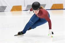 Team BC speedskaters get ready for 1000 m event