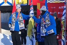 Two medals in big air for Team BC athletes
