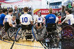 Team BC wheelchair basketball has a strong finish