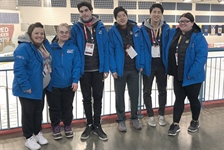 Training day for Team BC figure skaters