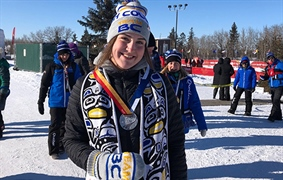 Team BC's Peiffer wins silver in cross country at Games