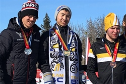 Lin skis to gold at Canada Winter Games