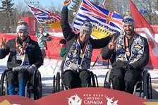 Team BC para nordic sweeps podium again