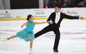 Team BC figure skaters shine at Canada Winter Games