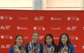 Women's squash earn team silver