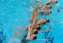 B.C.'s synchronized swimmers finish fourth in team event