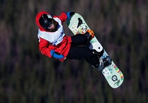 Silver for slope style snowboarder Quinten Fast